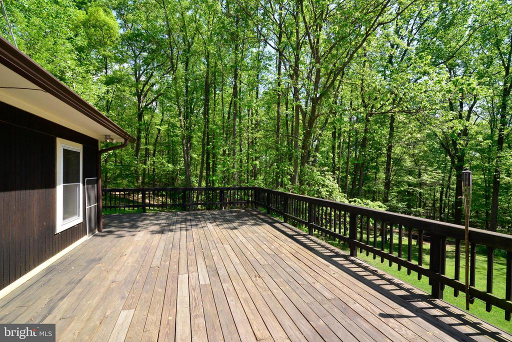 EXPANSIVE DECK & VIEWS - 37730 LONG LN, LOVETTSVILLE