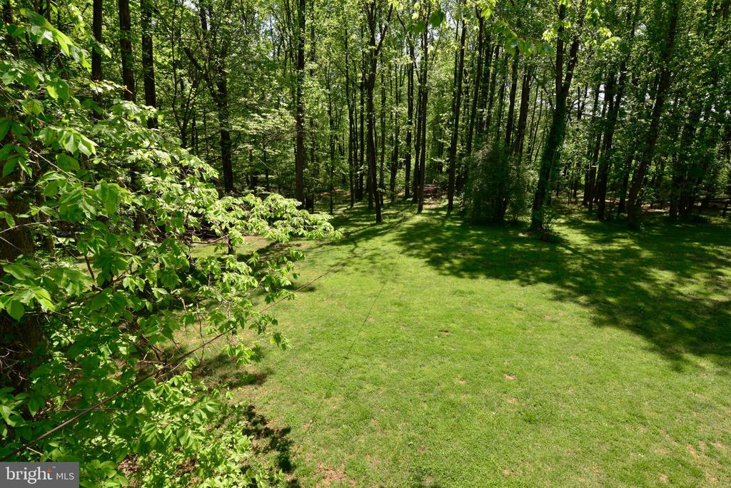 LAWN VIEWED FROM DECK - 37730 LONG LN, LOVETTSVILLE