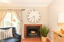 WOOD BURNING FIRE-PLACE - 1714 ABERCROMBY CT #B, RESTON
