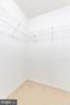 BEDROOM #1 WALK-IN CLOSET - 1714 ABERCROMBY CT #B, RESTON