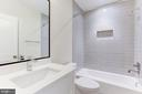 Lower lvl ensuite bathroom 5 - 1422 HERNDON ST N, ARLINGTON