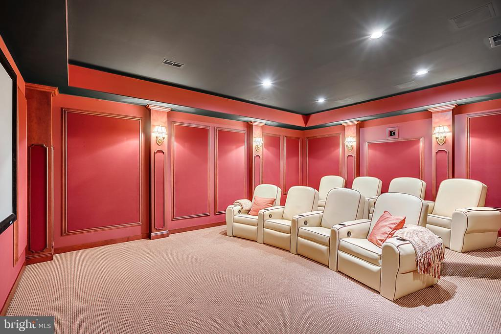 Media Room/ Home Theater - 12410 COVE LN, HUME