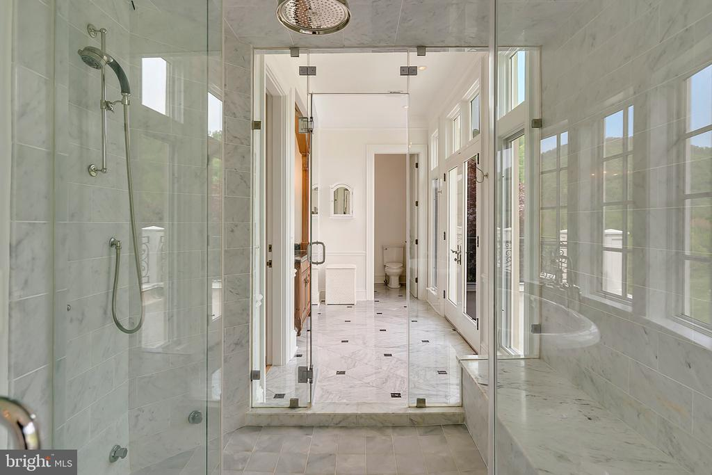 Double access Steam Shower in Master Bath - 12410 COVE LN, HUME