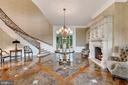 Grand Reception Hall  with Fireplace - 12410 COVE LN, HUME