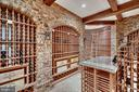 Wine Cellar with storage for over 3,500 bottles - 12410 COVE LN, HUME