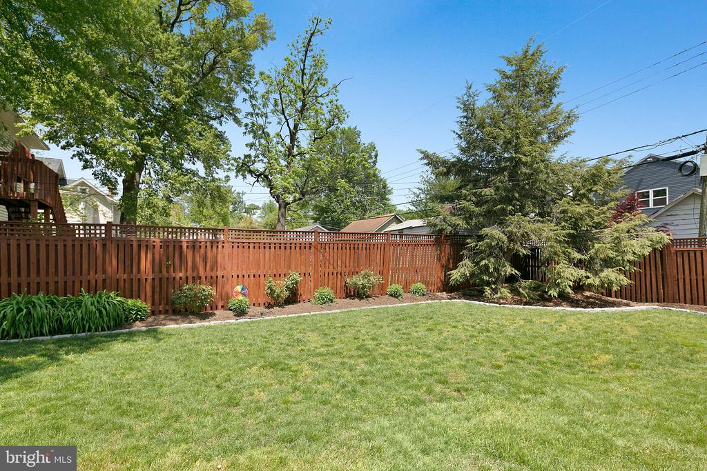 Gorgeous yard for play and relaxing - 801 N JACKSON ST, ARLINGTON