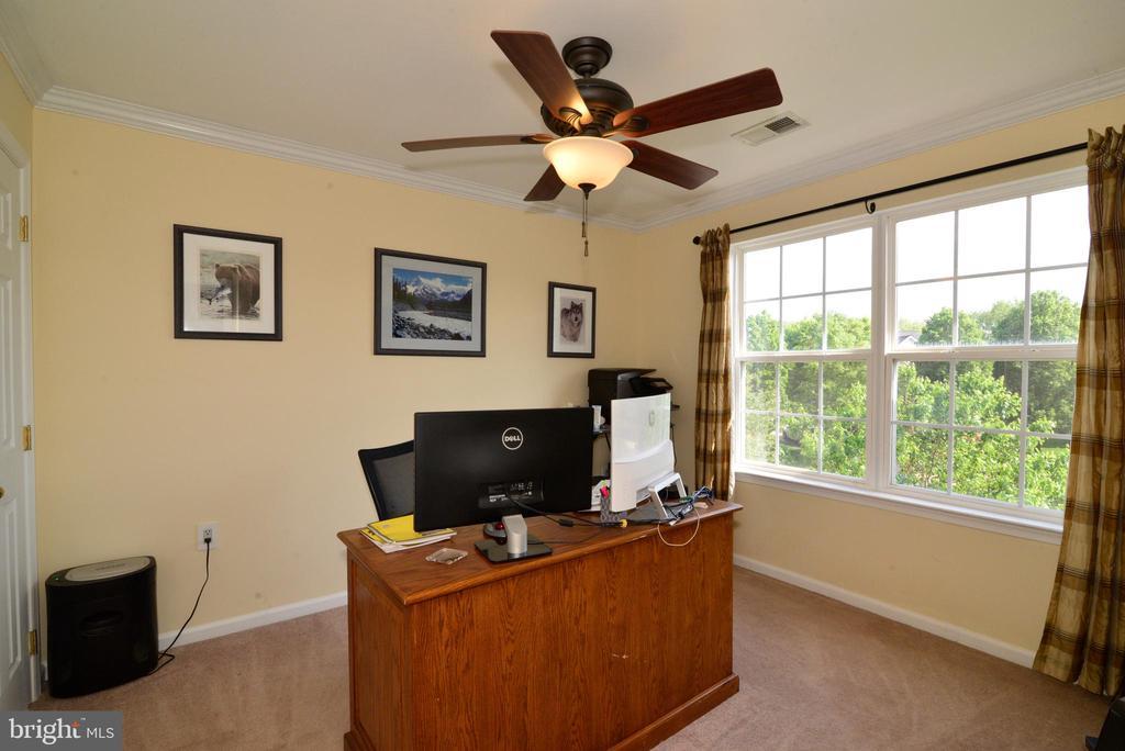 BEDROOM # 3 - HOME OFFICE - 708 SEATON CT SE, LEESBURG