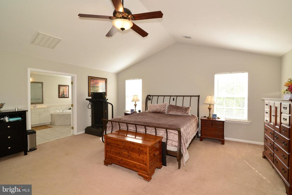 HUGE MASTER WILL LOTS OF CLOSET SPACE - 708 SEATON CT SE, LEESBURG