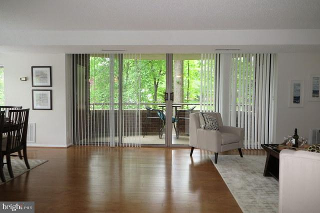 View from foyer to balcony - 5802 NICHOLSON LN #2-L02, ROCKVILLE