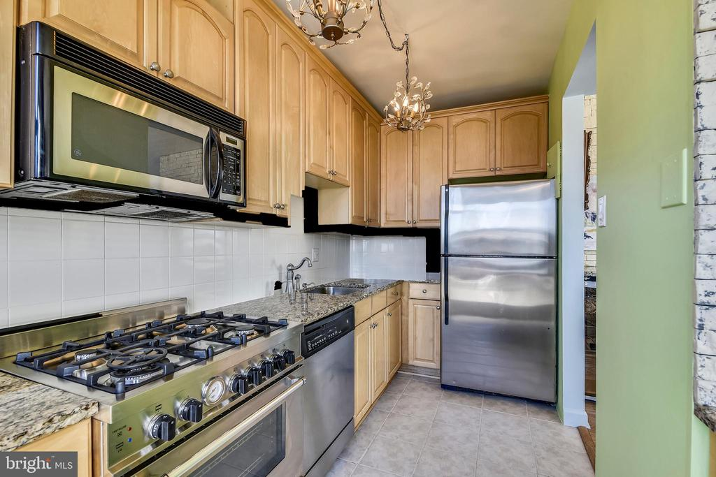 Kitchen with New Stainless Steel  Appliances - 1121 ARLINGTON BLVD #1006, ARLINGTON