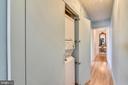 Hall Way to Laundry Closet - 1121 ARLINGTON BLVD #1006, ARLINGTON