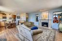 Open View of Living Room & Dining Room - 1121 ARLINGTON BLVD #1006, ARLINGTON