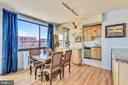 Dining Room Great View & Kitchen - 1121 ARLINGTON BLVD #1006, ARLINGTON