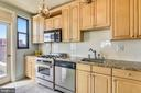 Kitchen with Granite Counter tops - 1121 ARLINGTON BLVD #1006, ARLINGTON