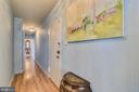 Hall Way to Back Bedrooms - 1121 ARLINGTON BLVD #1006, ARLINGTON