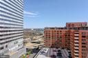 Terrace View into Washington, DC - 1121 ARLINGTON BLVD #1006, ARLINGTON