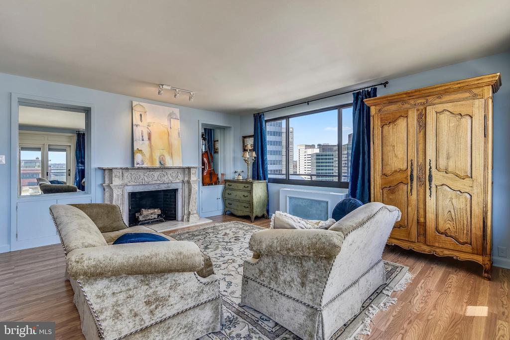 Bright Living Room with Amazing Views - 1121 ARLINGTON BLVD #1006, ARLINGTON