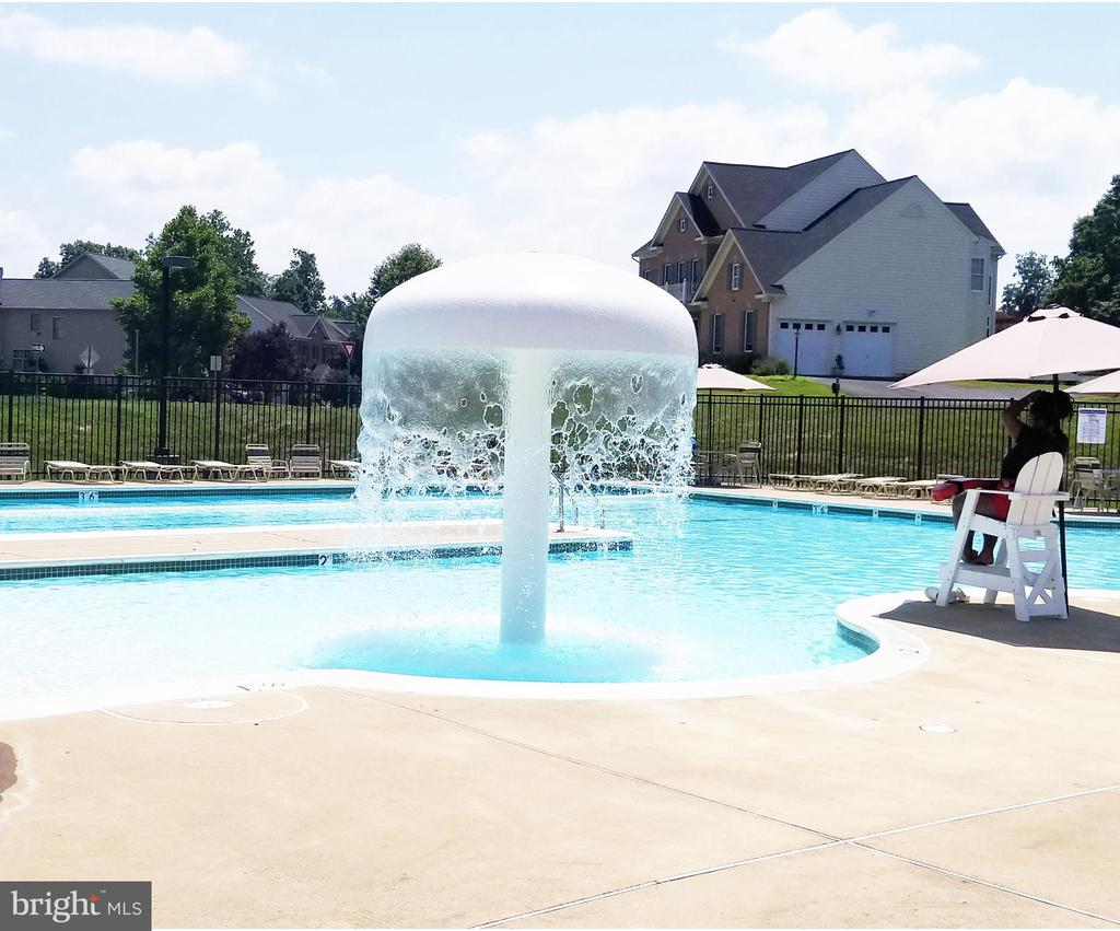 Community Pool - 3713 STONEWALL MANOR DR, TRIANGLE