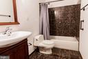 Basement Bathroom - 3713 STONEWALL MANOR DR, TRIANGLE