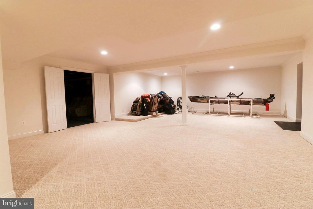 Basement - 3713 STONEWALL MANOR DR, TRIANGLE
