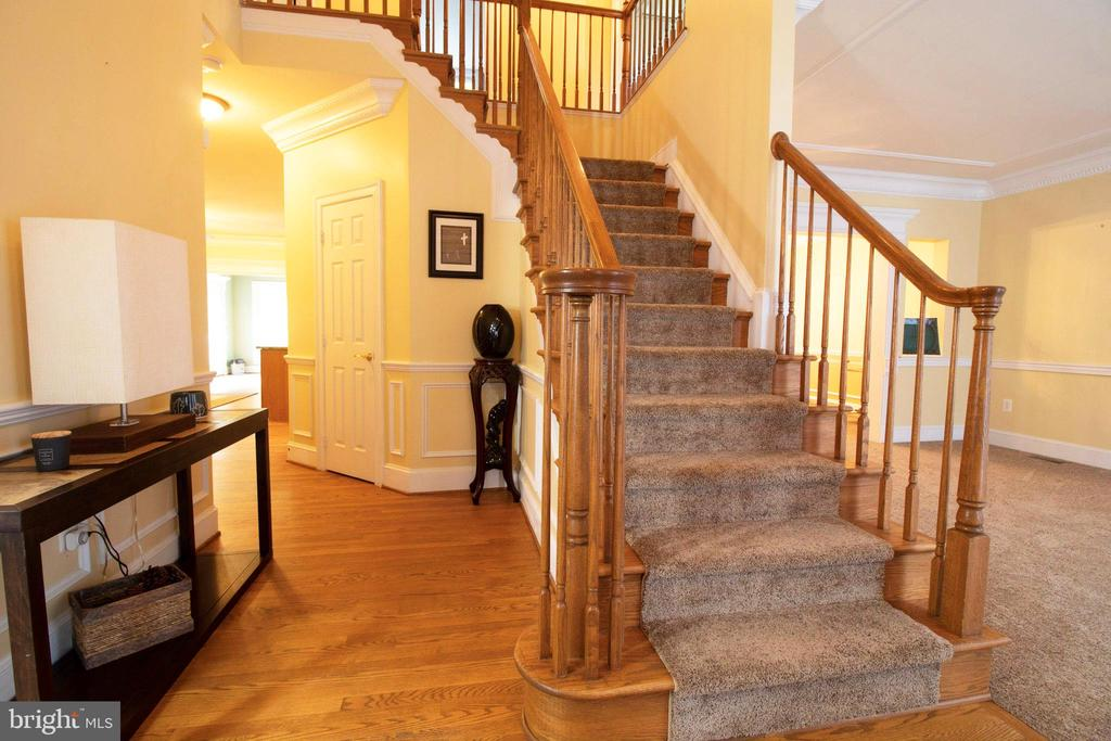 Foyer - 3713 STONEWALL MANOR DR, TRIANGLE