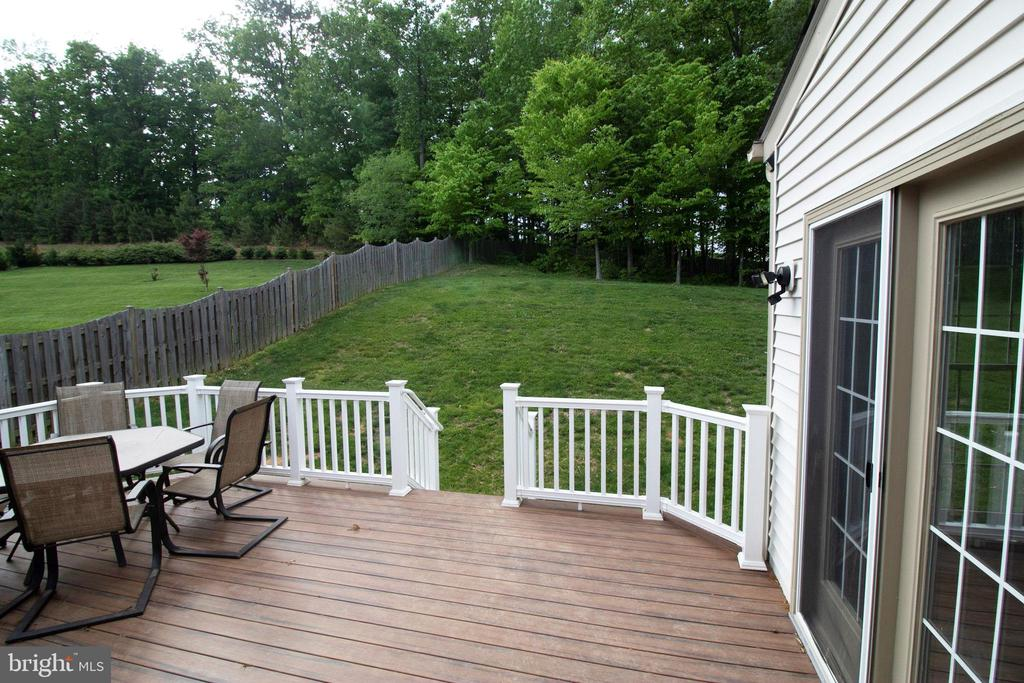 Deck - 3713 STONEWALL MANOR DR, TRIANGLE