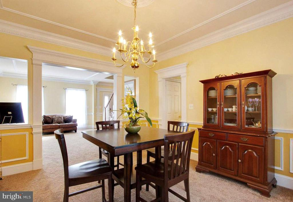 Formal Dining Room - 3713 STONEWALL MANOR DR, TRIANGLE