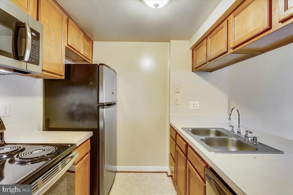 Kitchen with Stainless Steel Appliances - 18111 COPPS HILL PL, MONTGOMERY VILLAGE