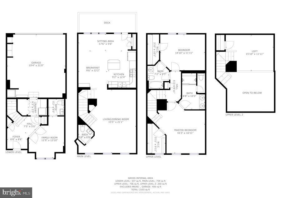 Floor Plan - 3814 HANSBERRY CT NE, WASHINGTON