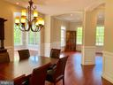 Dining Room, Living Room, Sunroom - 12775 YATES FORD RD, CLIFTON