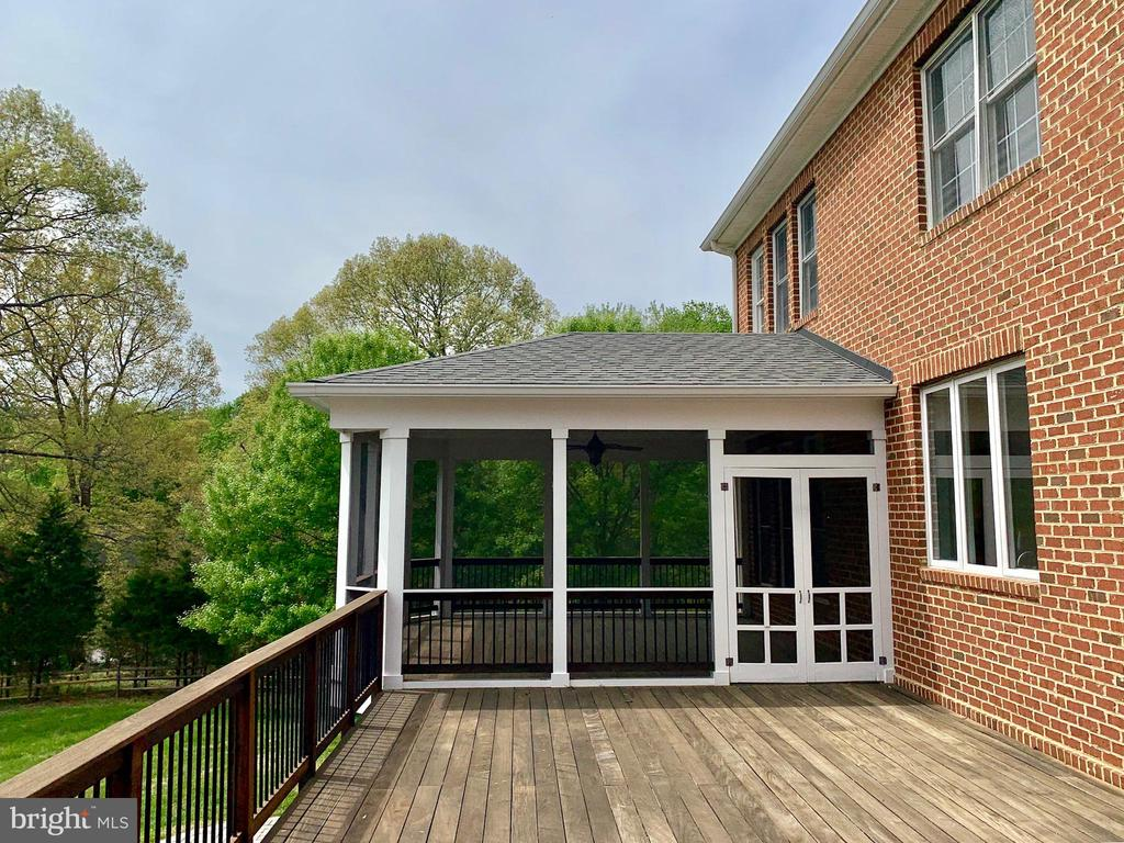 Screened Porch & Deck - 12775 YATES FORD RD, CLIFTON