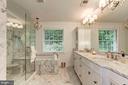 Master Bathroom - 3115 NORMANSTONE TER NW, WASHINGTON