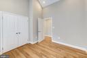 Upper level Bedroom 2 w/ vaulted ceilings - 4521 CLAY ST NE, WASHINGTON