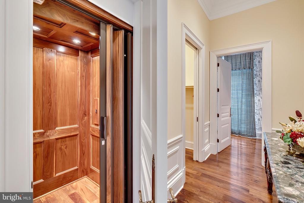 Elevator, Cloakroom and Guest bath - 12410 COVE LN, HUME