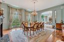 Dining room - 12410 COVE LN, HUME