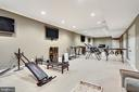 Exercise room. - 12410 COVE LN, HUME