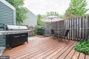 Private Deck - 6964 OLD BRENTFORD RD, ALEXANDRIA