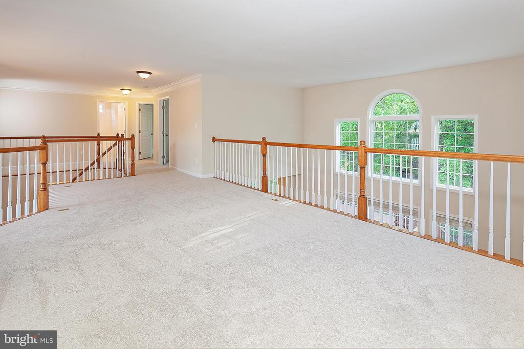 Upper Level Family Room - 25425 BRADSHAW DR, CHANTILLY