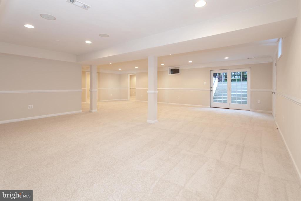 Basement - 25425 BRADSHAW DR, CHANTILLY