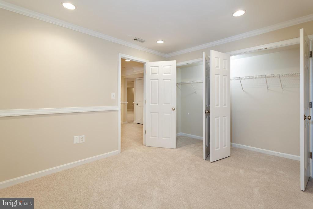Basement Bedroom/Den - 25425 BRADSHAW DR, CHANTILLY