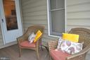 Porch balcony outside master bedroom. - 1503 S OAKLAND ST, ARLINGTON