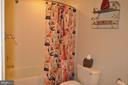 Full bathroom in lower level. - 1503 S OAKLAND ST, ARLINGTON