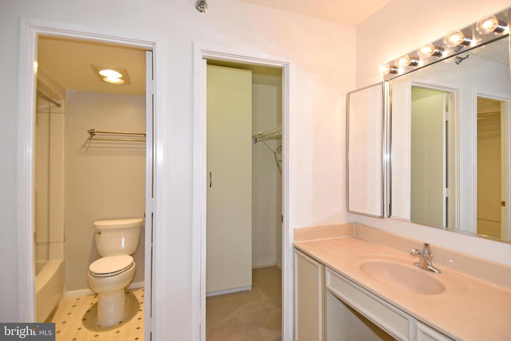 MBR Bath and closet - 900 N STAFFORD ST #2328, ARLINGTON