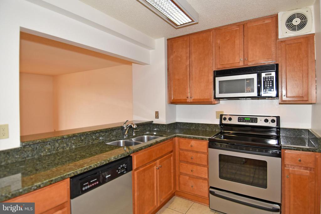 Granite, Stainless, just as you'd expect - 900 N STAFFORD ST #2328, ARLINGTON