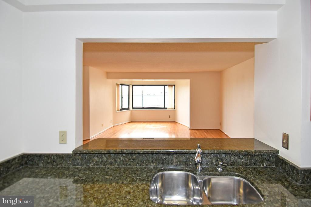See the great outdoors  from the kitchen sink! - 900 N STAFFORD ST #2328, ARLINGTON