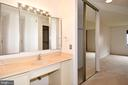MBR Bath double vanity - 900 N STAFFORD ST #2328, ARLINGTON