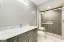 Lower Level Full Bath w/ Stand Up Shower - 4030 18TH ST S, ARLINGTON