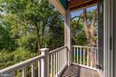 Private Balcony off Master Bedroom - 4030 18TH ST S, ARLINGTON