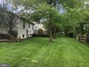 Back yard - 12504 THUNDER CHASE DR, RESTON