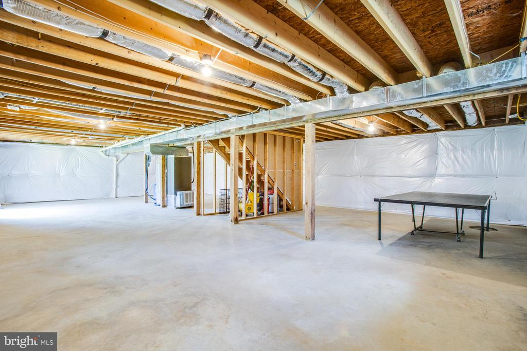 Unfinished Basement - 10910 ASTARITA AVE, PARTLOW